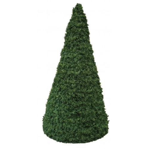 Conical green tree – plain