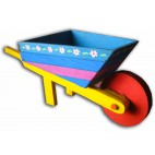 Wheelbarrow Coloured
