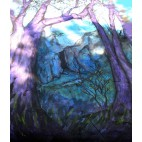 Murial Purple Tree forest