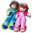 Dolls Soft Boy & Girl