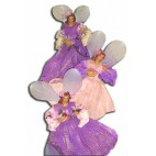 Fairies small pink set 3