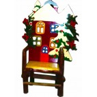 Santa Chair wooden