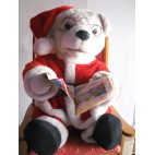 Teddy Animated Santa on Chair