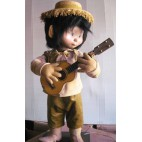 Doll Animated MUSICAL - Mexican banjo/guitar